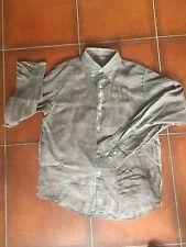 Camicia RARE in Lino con motivo animalier sul retro. Tg.XXL