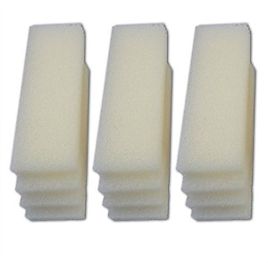 LTWHOME Foam Filters Fit for Fluval 404, 405,406 External Filter (Pack of 12)