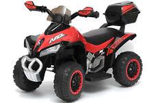 Mini quad elettrico per bambini DELUXE quattro ruote giocattolo ROSSO 6V LT928
