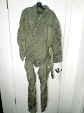 50s Vintage Z-2 Pilot Suit Anti Blackout Coveralls : Military swat WW2 jumpsuit