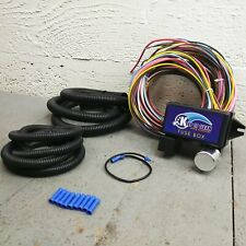 Wire Harness Fuse Block Upgrade Kit for Late Model Honda street rod rat rod