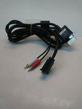 VGA Video RCA Audio to Microsoft Xbox 360 Cable Connector AV HD TV Wire Cord