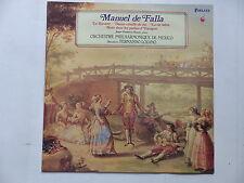 MANUEL DE FALLA Le Tricorne ... Orch Phil Mexico FERNANDO LOZANO Forlane um 3553