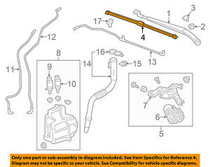 Chevrolet GM OEM 17-18 Bolt EV Wiper Arm-Front Blade 42566593