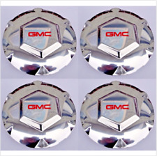 "Set 4pcs 02-07 GMC Envoy 02-06 XL 04-05 XUV Chrome Center Wheel Hub Caps 17"" Rim"