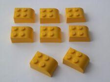 Lego 6215# 8x Rundstein 2x3 gelb 60074 10020
