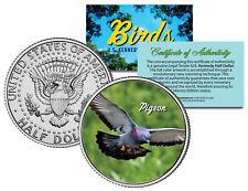 PIGEON BIRD JFK Kennedy Half Dollar US Colorized Coin