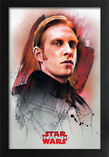 STAR WARS THE LAST JEDI HUX PROFILE 13x19 FRAMED GELCOAT POSTER EPISODE XIII!!!!