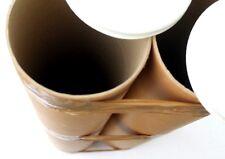 tubes ultra large carton 12 cm ( 120 mm ) Lot rare de 2 long.72cm emballage fort