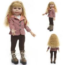 New Toddler Lifelike Newborn Girl Doll Reborn Full Body Baby Doll Gift for Girl