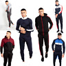 JUSTYOUROUTFIT MENS BOYS  ZIP RED navy white and red panel skinny fit Tracksuit