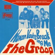 """THE GROUP - """"WOMAN YOU'RE BREAKING ME"""" OOP 1979 AUST 7"""" EP RAVEN RV-07 MONO"""
