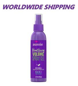 Aussie Headstrong Volume Spray Gel W/Bambou 5.7 Fl OZ Livraison Monde Entier