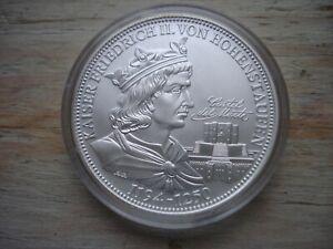 """Medaille Die deutschen Kaiser """"Friedrich II. """" - Silber"""
