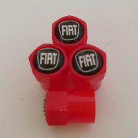 FIAT ABS Red Plastic Valve Dust caps all models Punto 500X 500C 500L more colour