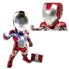 NEW EA-002 Egg Attack Iron Man 2 Mark V Light Up Figure 18cm BK28217 US Seller
