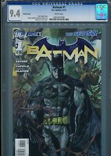 Batman #1  New 52 (Variant cover)  CGC 9.4  White Pages