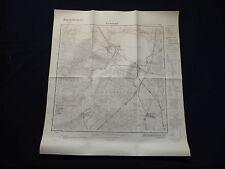 Landkarte Meßtischblatt 3048 Joachimsthal, Grimnitz-See, Golzow, 1936