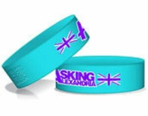 ASKING ALEXANDRIA  - OFFICIAL RUBBER WRISTBAND