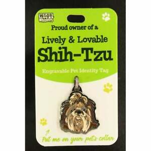 Wags & Whiskers Pet Identity Tag - Shih-Tzu 00204090058