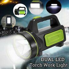 LED Portátil Foco Linterna Reflector Recargable Portátil Alta Potencia Puerto