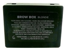 Urban Decay BROW BOX Waterproof Eyebrow Powder Wax&Tools-Blondie Read Info