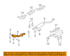 NISSAN OEM 09-11 Versa 1.8L-L4 Exhaust System-Front Pipe 20010ZR71A