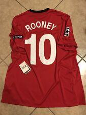 England Manchester United Rooney Jersey Football Soccer Nike Shirt