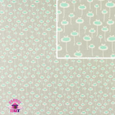 Amy Butler August Fields Fresh Start Gray Cotton Fabric by the Yard