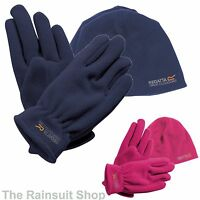 REGATTA KIDS  FLEECE HAT AND GLOVE SET  4-13 YEARS  BOYS OR GIRLS
