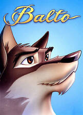 Balto & Balto II Wolf Quest  1 & 2 DVD FS Animated Dogs Alaska