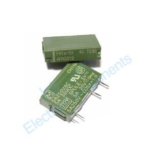 PA1A-5V PA1A-12V PA1A-24V Power Relay 4 Pins SPST New 10PCS