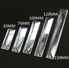 63mm-150mm Triangle Article Clear Glasses Decoration Crystal chandelier parts