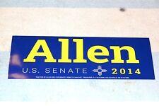 POLITICAL BUMPER STICKER ALLEN [WEH] for U.S.SENATE 2014 NEW MEXICO CONSERVATIVE