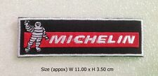 Michelin embroidered sew iron on patch tires sponsor automobile badge logo DIY