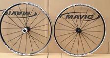 New 2014 Mavic Aksium AK Race Road Bike Bicycle 700c F&R Black Wheels Wheelset