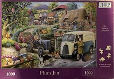 HOP Deluxe 'PLUM JAM' 1000-Piece Jigsaw Puzzle  **Fast Free Postage**