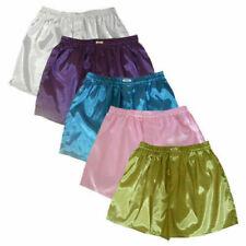5 Pairs Mens Boxer Shorts Pants Trunks Underwear Briefs Thai Silk / Plain Colors