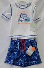 Ultra Violet Protective Swimsuit & Shirt Set Carter's Baby Boy's Size 18 months