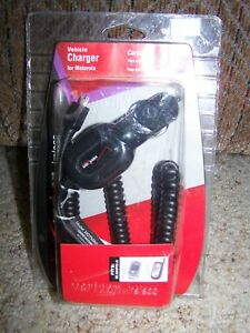 VERIZON Wireless Vehicle CAR CHARGER For Motorola New in Package MOTMINIVPC