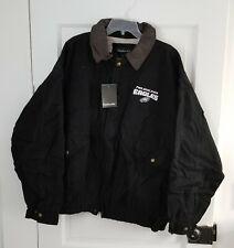 Philadelphia Eagles NFL Dunbrooke Jacket with Leather-Like Collar Size 3XL