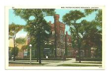 Pre 1930 postcard chicago illinois mrs. potter palmers residence 311 unused