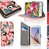 Cuir PU Etui Housse Portefeuille pour Samsung Galaxy S6 SM-G920 Flip Case Cover