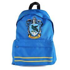 Harry Potter Backpack Ravenclaw Crest Bag Official Blue Canvas Rucksack