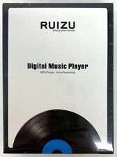 Ruizu Digital Music Player (MP3, Voice Recording, Blue Color) X02 USA SELLER