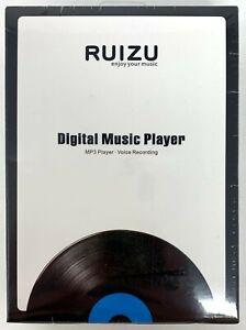 Ruizu Digital Music Player (MP3, Voice Recording, White Color)