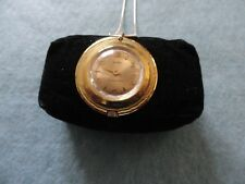 Swiss Made Mawi Mechanical Wind Up Necklace Pendant Watch - Runs Fast