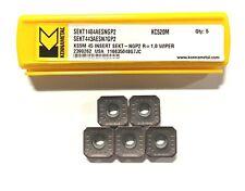 Kennametal Carbide Insert Sekt443aesn7gp2 Grade Kc520m Milling Inserts 5 Pack