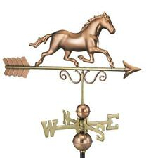 NEW Good Directions Horse Pure Copper Roof-Mount Weathervane Large w/ Arrow