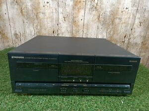 Vintage Pioneer CT-Z360WR Stereo Double Cassette Deck